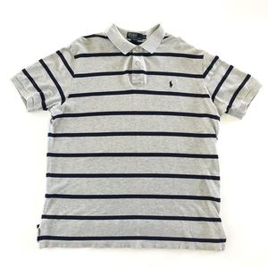 Men's Ralph Lauren Polo Shirt XL Stripes